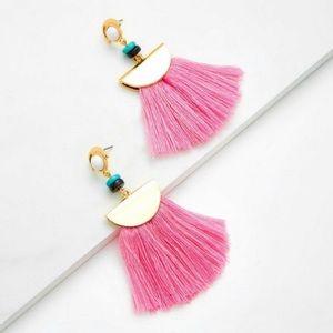 Jewelry - Tassel Fringe Statement Earrings